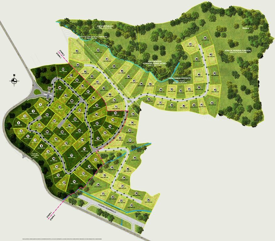 Proyectos medell n villas del campo for Villas del campo